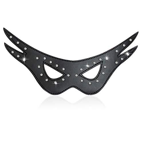 Sex Toys Flirting Supplies Adult Sex Toys Blindfolds Diamond Masquerade Alternative Toys (Masquerade Mask Stick)