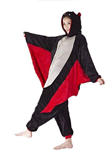 Halloween Kostüme Tier Erwachsenen (Pyjamas Tier Kostüm Schlafanzug Jumpsuit Erwachsene Unisex Cosplay Halloween)