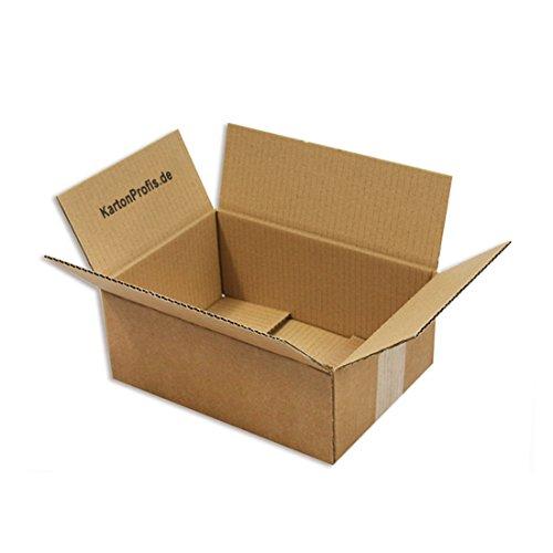 250 x 175 x 100mm - 25 Versandkartons Faltschachteln Faltkarton