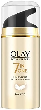 Olay Day Cream Total Effects 7 in 1 Anti-Ageing Lightweight Moisturiser SPF 15, 20g