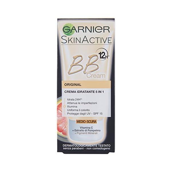 Garnier – Bb cream p.normali medio/scura – cremas y mascarillas faciales