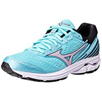 MIZUNO J1GD183169 Wave Rider 22 Women's Running Shoes, 7.5 UK, Angel Blue/Lavender Frost/Black