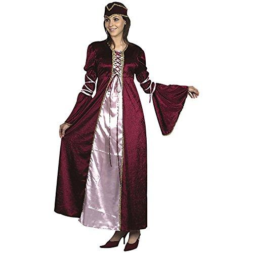 (Spassprofi Samt Kostüm Renaissance Prinzessin Gr. M/L Adel Hofdame Mittelalterkostüm)