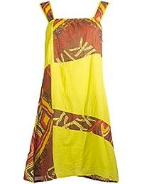 Coline - Robe courte imprimé ethnique