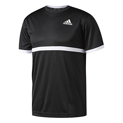 adidas Herren Court T-Shirt Black/White