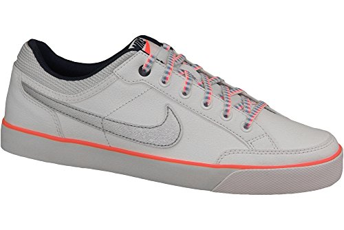 Nike Mädchen Capri 3 LTR (GS) Turnschuhe, SilberSchwarz