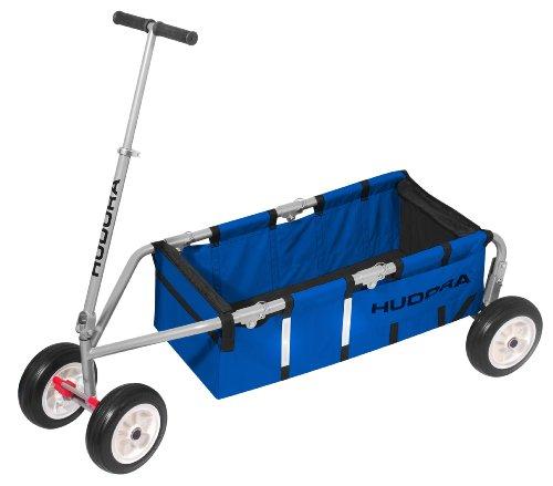 """Preisvergleich Produktbild HUDORA Bollerwagen Überländer 10"""", blau - Handwagen faltbar - 10322"""
