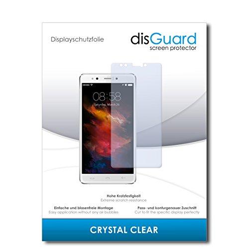 disGuard® Bildschirmschutzfolie [Crystal Clear] kompatibel mit Homtom HT10 [4 Stück] Kristallklar, Transparent, Unsichtbar, Extrem Kratzfest, Anti-Fingerabdruck - Panzerglas Folie, Schutzfolie