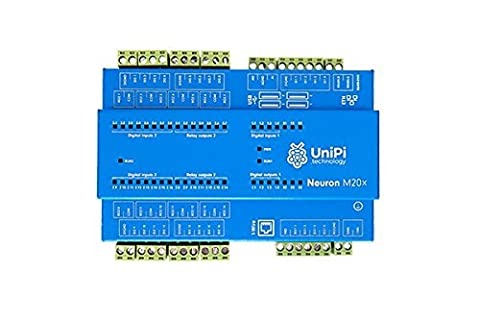 UniPi Neuron M303 (incl. Raspberry Pi 3) - Monitor & Manage Anything - AddOn expansion board for home automation, monitoring, data collection, motor control, etc