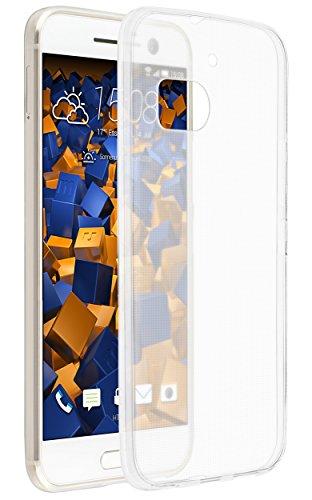 mumbi UltraSlim Hülle für HTC 10 Schutzhülle transparent (Ultra Slim - 0.55 mm)