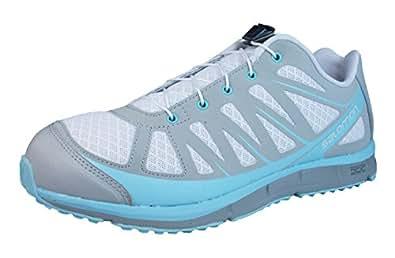 Salomon Damen Sneaker Grau/Blau EU 40.5 (UK 7)