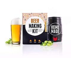 Idea Regalo - Brewbarrel Starter Kit per birrificazione Domestica in Una Sola Settimana - Regali Uomo