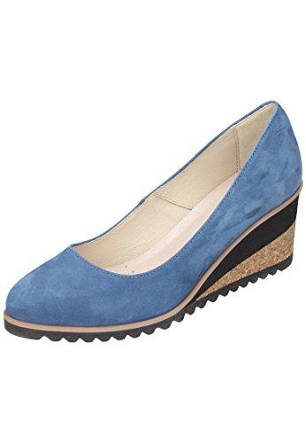 piazza-womens-piazza-damen-pumps-court-shoes-blue-blue