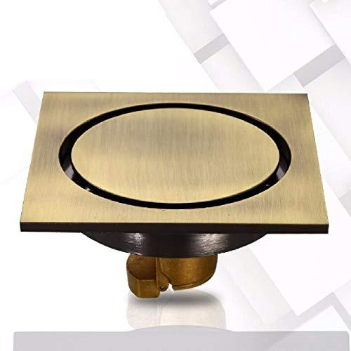 CJSHV Bodenablauf Badezimmer Abfluss Voller Kupfer Geruch Bad Dusche Kern Waschmaschine Toilette Gully Hoch,B