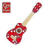 Hape E0603 - Ukulele  Lagune, Kindergitarre, aus Holz, Rot