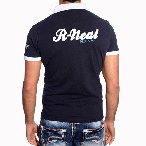 R-Neal -  Polo  - Uomo Blu marino