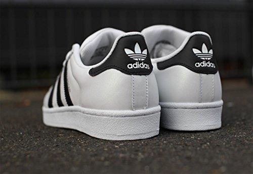 Adidas Originals - Superstar - Baskets - Mixte Adulte Multicolore - Multicolore (Ftwwht/Cblack/Cblack)