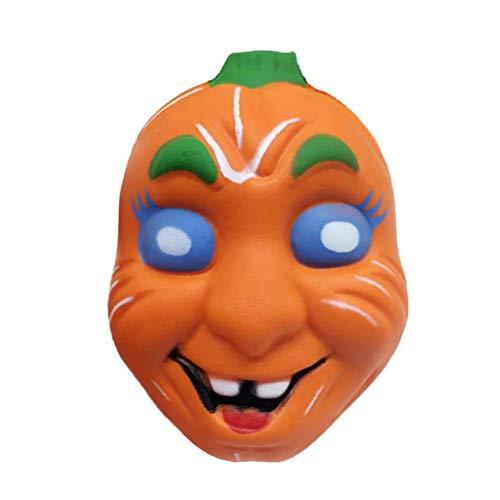 healifty Halloween Kürbis Quetschen Toys Slow Rising Stress lindern Plüschtiere Dekompression Toys