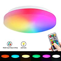 Colour Changing LED Ceiling Light, Flood Light