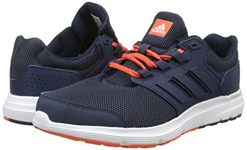 adidas Men's Galaxy 4 M Running Shoes, Blue (Trace Blue