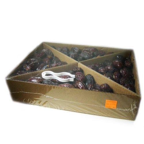 Topfruits Medjool Datteln (Medjoul), natur, JUMBO, extra dicke Spitzenqualität, Rohkost, 5kg