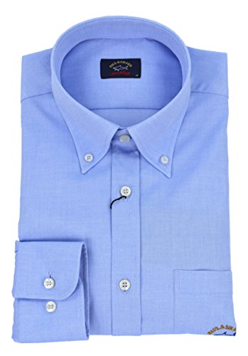 Paul & shark - uomo camicia button down oxford celeste i18p3290 005-27514 - 41