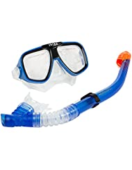 Intex 55948 - Set buceo, mascara y tubo, diseño reef rider