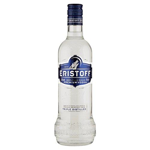 Eristoff - Vodka - 700 ml, 37.5º, 1 unidad