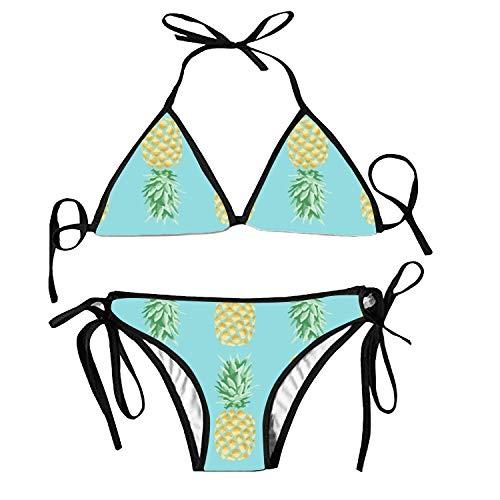 Women's Bathing Swimsuits Adjustable Strap Lovely Astronaut Bikini Set Two Pieces (Tourist Kostüm Mädchen)