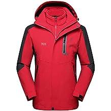 Amazon.it  giacca antivento montagna - Rosso b48d58ea055