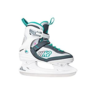K2 Damen Schlittschuhe Kinetic Ice W – weiß-grün – 2550801.1.1