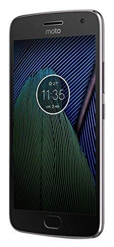Lenovo Moto G5 Plus Smartphone, Memoria Interna da 32 GB, LTE, Grigio Lunare [Italia]