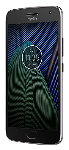 Lenovo Moto G5 Plus Smartphone, Memoria Interna da 32 GB, Grigio Lunare [Italia]