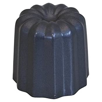 de Buyer 4718.05 Moules à Cannelés Diamètre 5,5 cm - Lot de 4