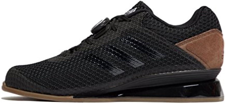 adidas Leistung 16 II MAtildecurrennner Gewichtheben Schuhe  Schwarz  46