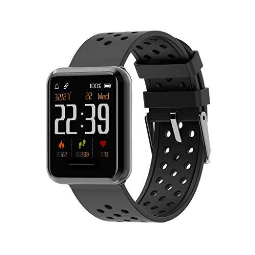 Farbdisplay Smart Watch, Chshe TM, 1,28-Zoll-Tft-Bildschirm, Ip67, Wasserdicht, Sport-Smart Watch(A) (Lg-touch-handys Entsperrt)