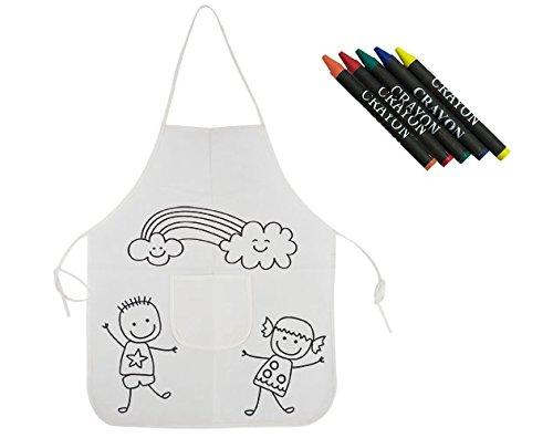 Delantal para pintar para niños - Pack de 10