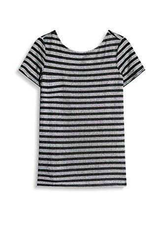 ESPRIT Damen T-Shirt Mehrfarbig (Anthracite 010)