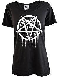 Darkside Womens Cult Pentagram 666 T Shirt