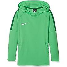 Nike Joven Dry Academy 18 Hoodie, Primavera/Verano, niño, Color Light Green