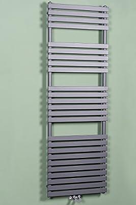 Designer Handtuchheizkörper Badheizkörper 1810x600mm Grau von Wärmehaus auf Heizstrahler Onlineshop