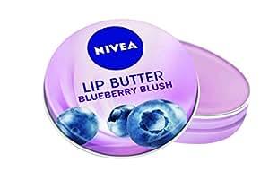Nivea Lip Butter Blueberry Blush Soft Lips, 16.7g