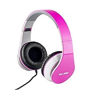 ELBE AU-545-PK Pink Headphones