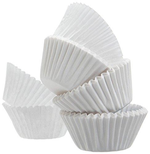 EINER WELT von Deals Best Qualität Standard Größe weiß Cupcake Papier-Backförmchen-1Pack Cup Liners 500PCS