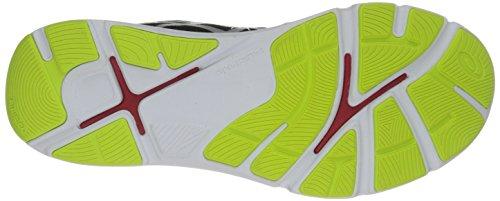Asics Mens 33-FA Running Shoe Onyx/Flash Yellow/Chinese Red