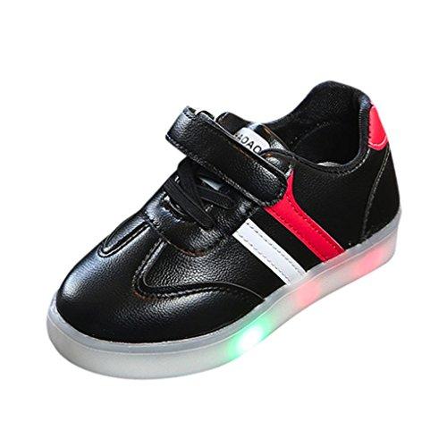 6d6bad68db882f UOMOGO Scarpine neonato Unisex Bambino Scarpe con Luci Scarpe LED Luminosi  Sneakers con Luce nella Suola