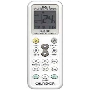 CHUNGHOP K-1028E 1000 en 1 Universal LCD A C de la télécommande / pour climatiseur PANSONIC LG TOSHIBA FUJITSU SHARP