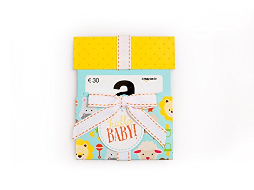 tschein in Geschenkkuvert - 30 EUR (Hallo Baby) (Geschenkkarte Geburtstag)