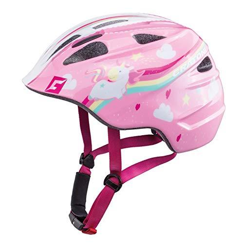 Cratoni Akino Helmet Kids Einhorn pink Glanz Kopfumfang M | 53-58cm 2018 Fahrradhelm
