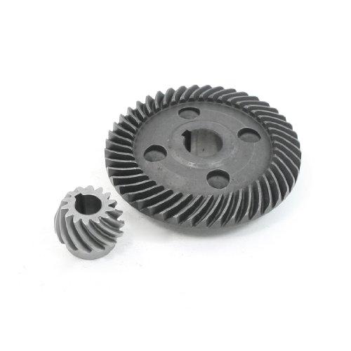 Aexit Elektrisch Winkel Schleifer 78mm Dia Spiral Getriebe Ritzel Set für Hitachi 180 (Winkel-getriebe)